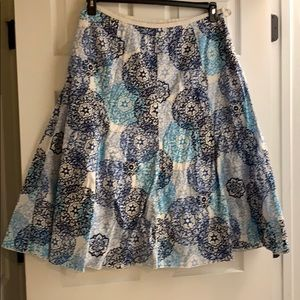 Talbots size 14w long skirt